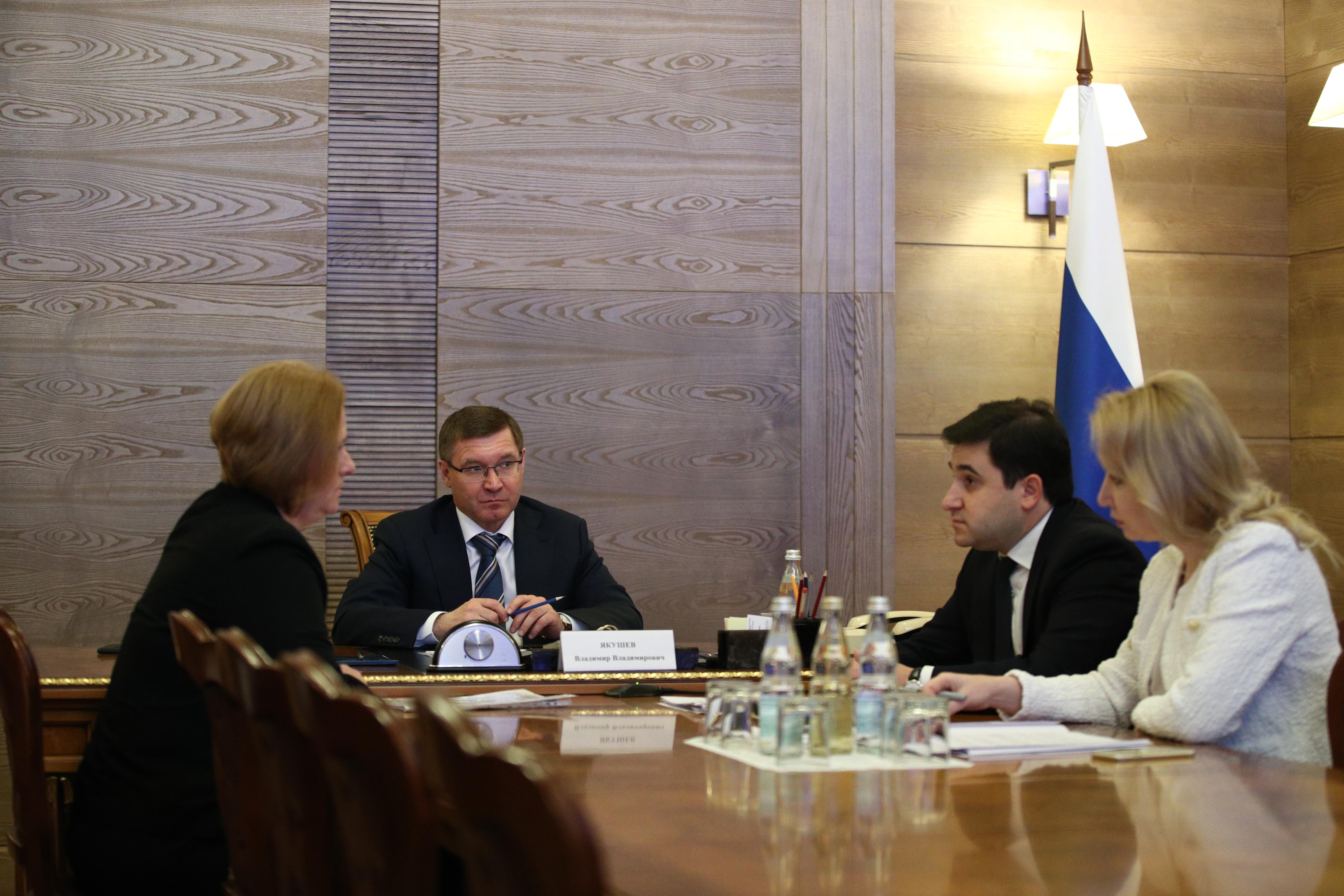 Владимир Якушев провел личный прием граждан