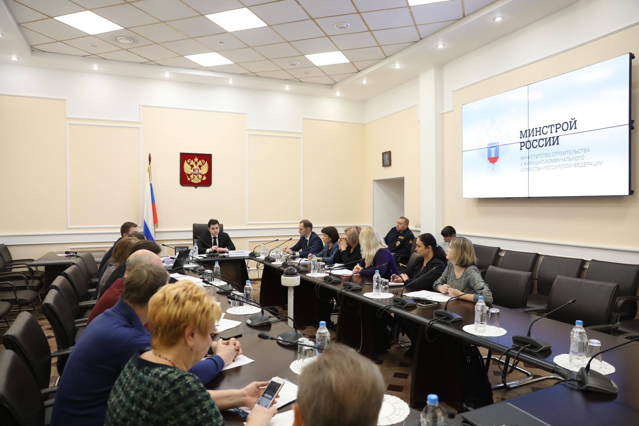 Никита Стасишин провел встречу с дольщиками ГК «Урбан груп»