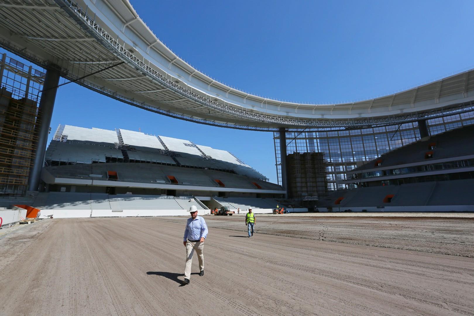 В Главгосэкспертизу России поступает откорректированная с учетом мнения <br>ФИФА проектная документация по стадионам