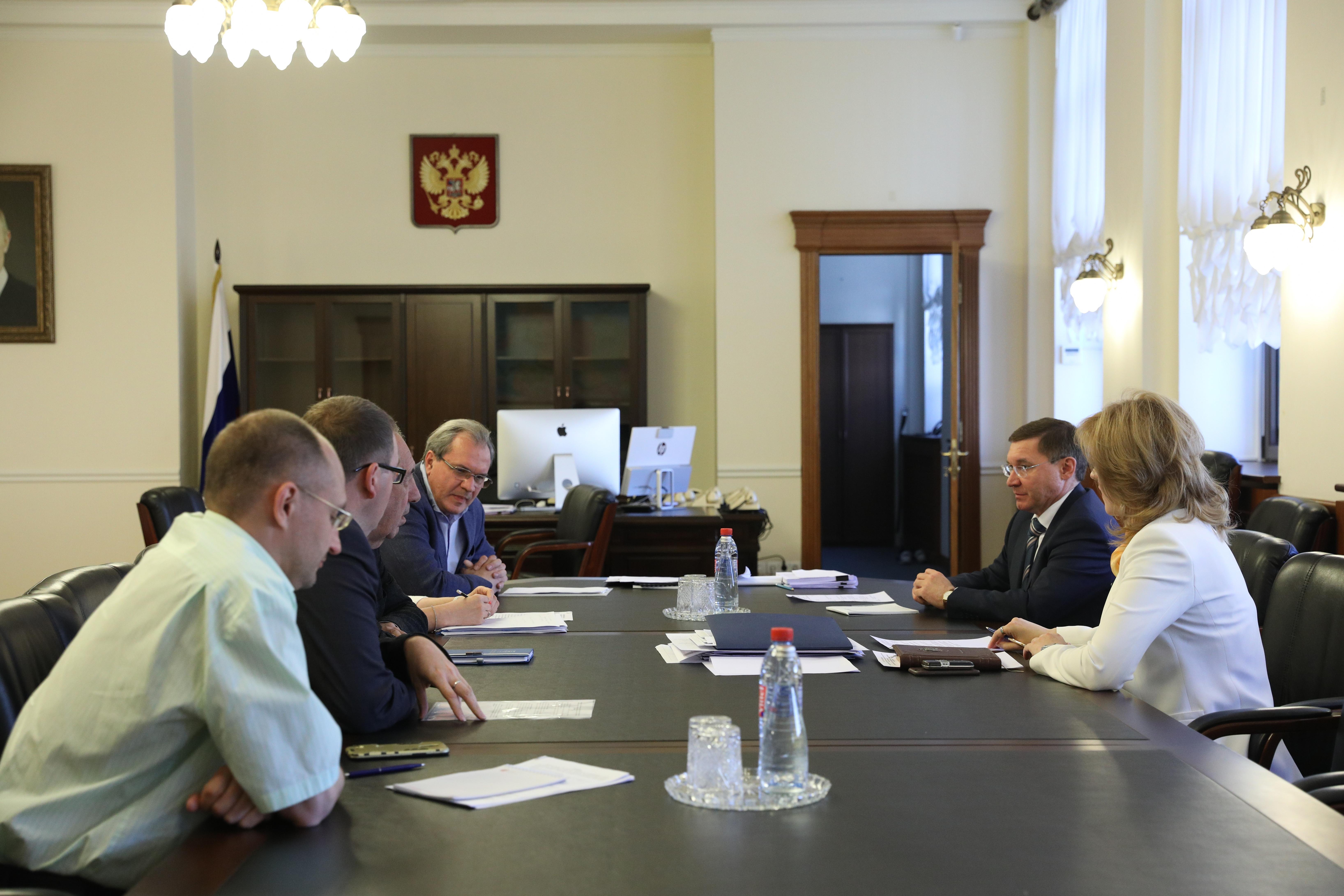 Глава Минстроя России встретился с представителями Общественной палаты
