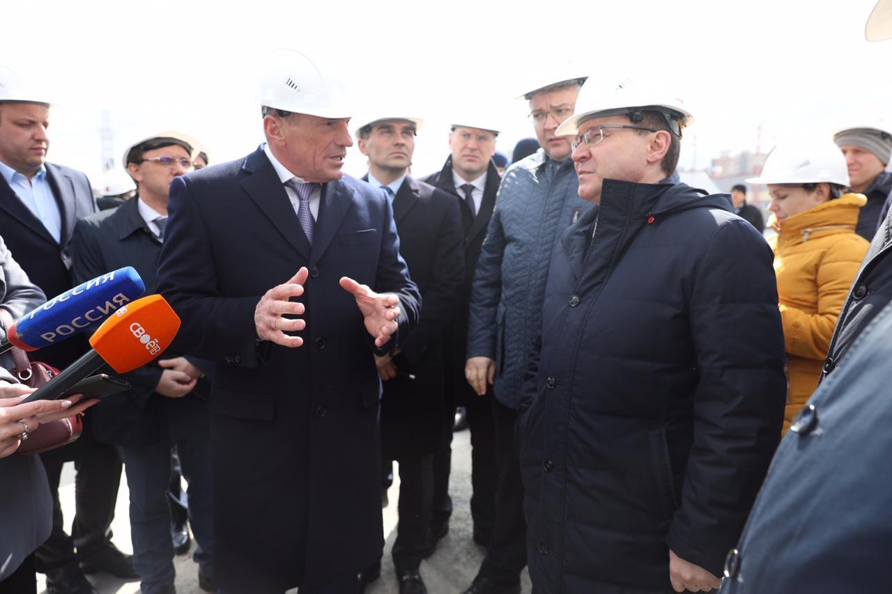 Глава Минстроя России и Губернатор Ставрополья обсудили поддержку строительства <br>социальных объектов