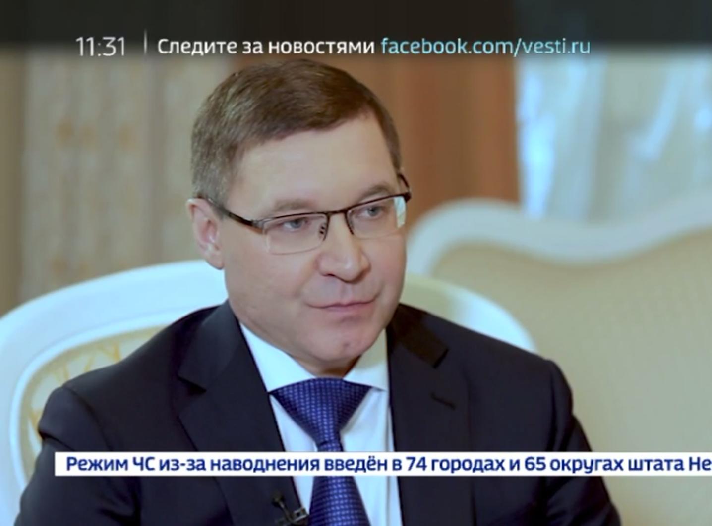 Интервью главы Минстроя России Владимира Якушева ТК «России 24»