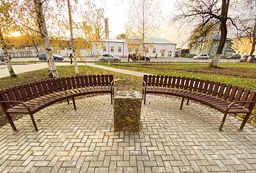 Во Владимирской области появился обновленный парк городской усадьбы Ганшиных - ВИДЕО