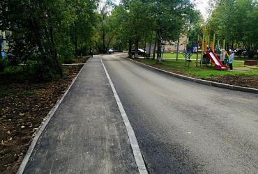 В Перми завершен ремонт 87 дворовых территорий по нацпроекту «Жилье и городская среда»