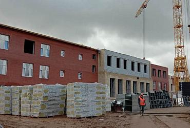 Строительство школы и детской поликлиники в Ярославле по нацпроекту идет по графику