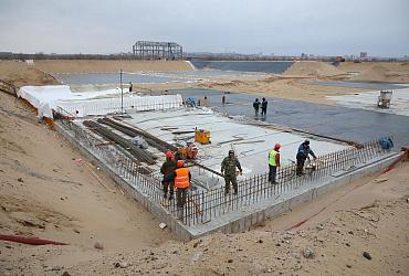 На острове Голодный в Волгограде строят комплекс биоочистки стоков - ВИДЕО