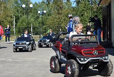 В Судогде Владимирской области благодаря нацпроекту построили автогородок - ВИДЕО
