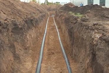 На Архангельском грунтовом водозаборе в Ульяновской области завершено бурение второй скважины - ВИДЕО