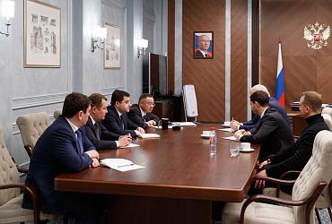 Министр строительства и ЖКХ РФ Ирек Файзуллин провел рабочую встречу с главой Республики Коми