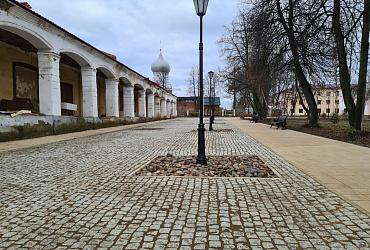 В Данилове Ярославской области открыли благоустроенную площадь Советскую