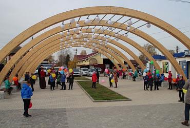 Благоустройство площади Свободы в Красных Баках Нижегородской области