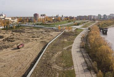 В Нефтеюганске строят центр акробатики и лёгкой атлетики - ВИДЕО