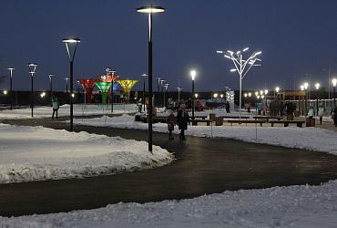 В Свердловской области построен сквер «Молодежный» на средства нацпроекта