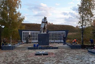Парк Победы откроется в Белозерске Вологодской области после масштабного ремонта