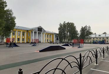 Город Анжеро-Судженск в Кузбассе встретит 90-летие с обновленными общественными пространствами и дворовыми территориями