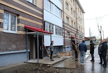 В Архангельской области введен в эксплуатацию еще один дом для переселенцев из аварийного жилья