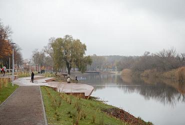 В Шебекино Белгородской области открылась набережная Нежеголи