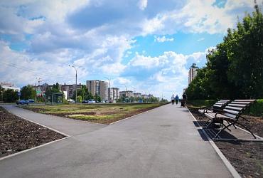 В Липецке в рамках нацпроекта завершился первый этап реконструкции Молодежного парка