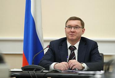 Поздравление главы Минстроя России Владимира Якушева с Новым годом