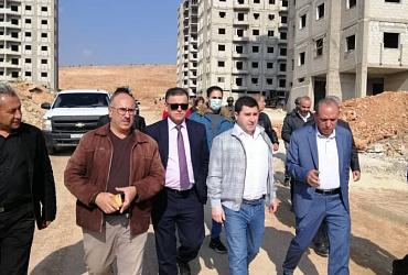 Никита Стасишин ознакомился с проектами комплексного развития территорий в Сирии