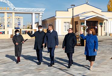 Фоторепортаж: Глава Минстроя России Владимир Якушев побывал с рабочей поездкой в Республике Башкортостан